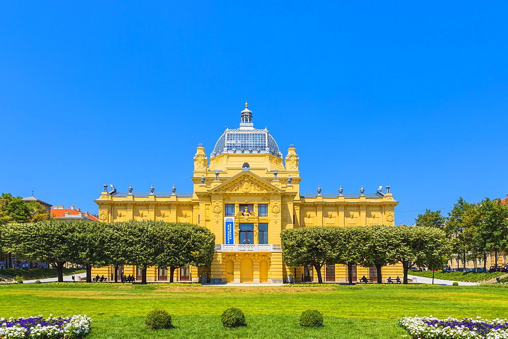 Art Pavilion, Zagreb, Croatia, Europe - 1207-290