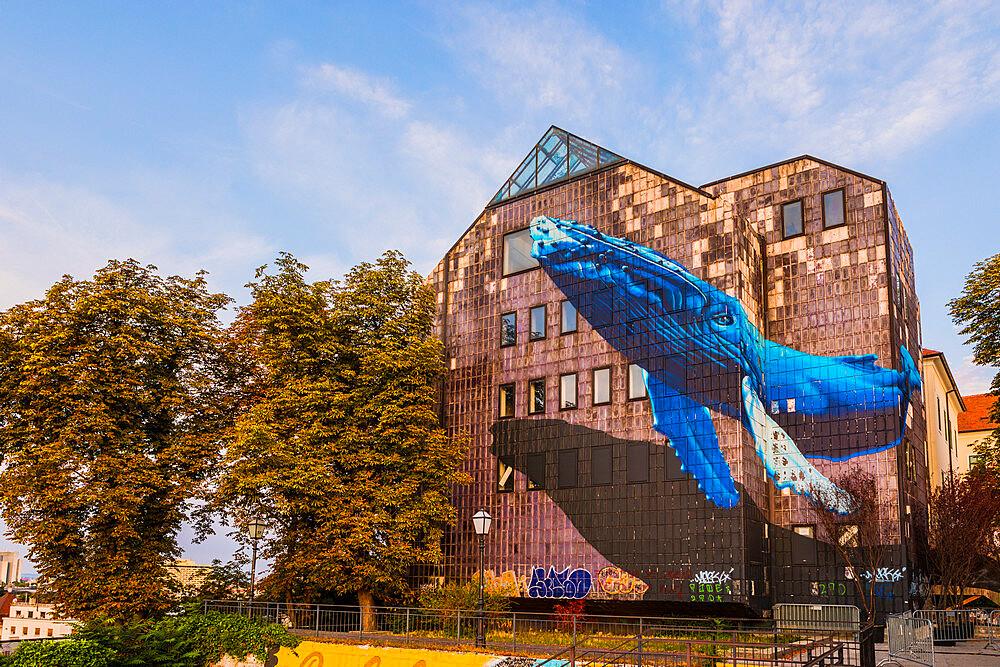 Street art in Zagreb, Croatia, Europe - 1207-308