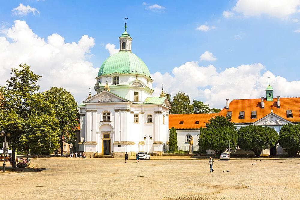 St. Kazimierz Church, Warsaw, Poland, Europe