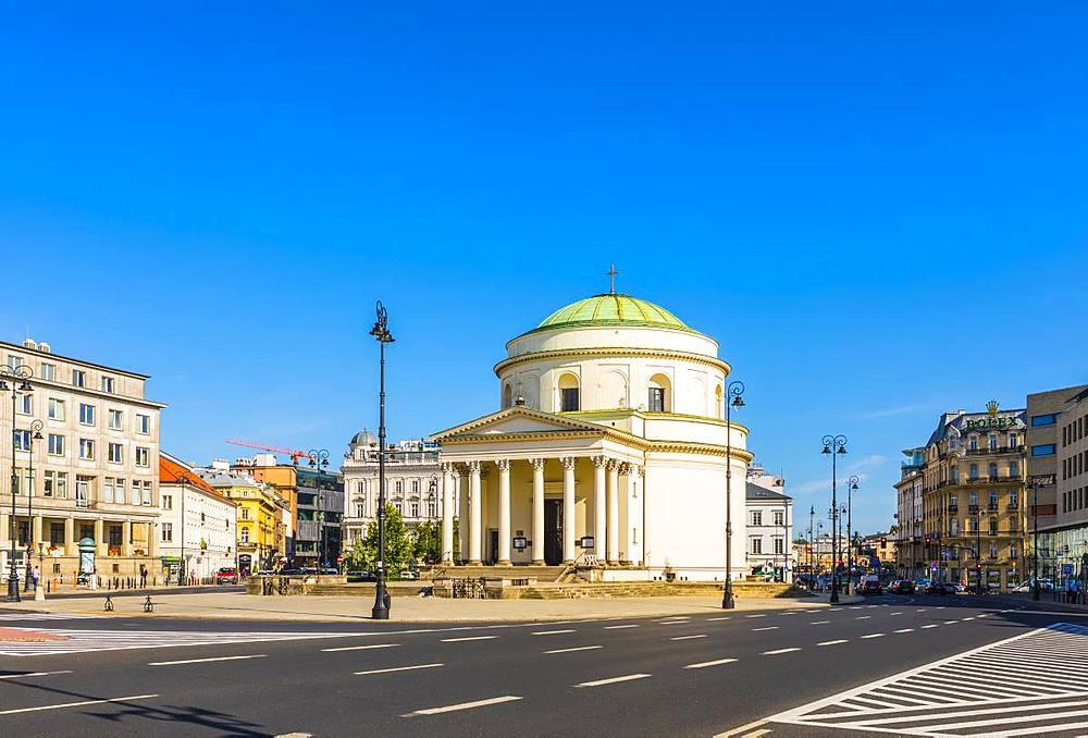 St. Alexander's Church, Warsaw, Poland, Europe