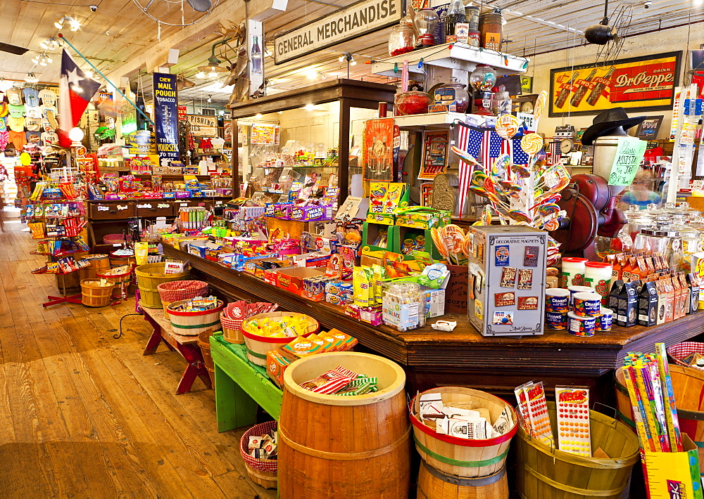 General Store in a town called Jefferson, Texas, United States of America, North America - 1207-41