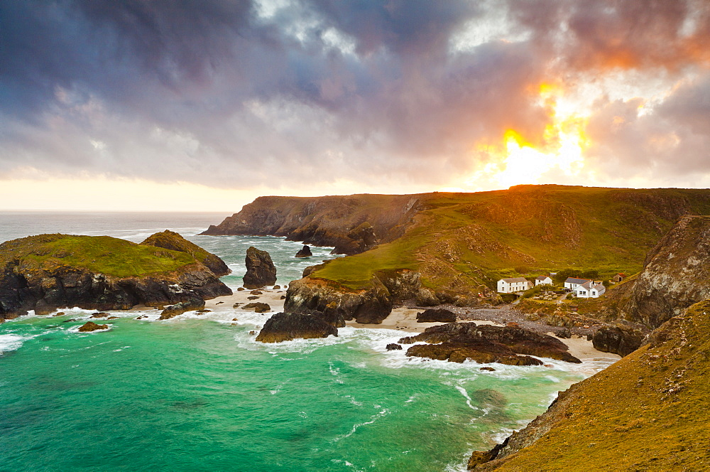 Kynance Cove, Lizard, Cornwall, England, United Kingdom, Europe - 1207-5