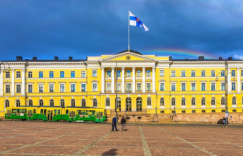 Senate Square, Helsinki, Uusimaa, Finland, Scandinavia, Europe