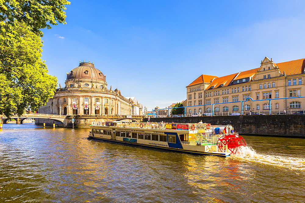 Bode Museum on the River Spree in Berlin, Germany, Europe - 1207-547