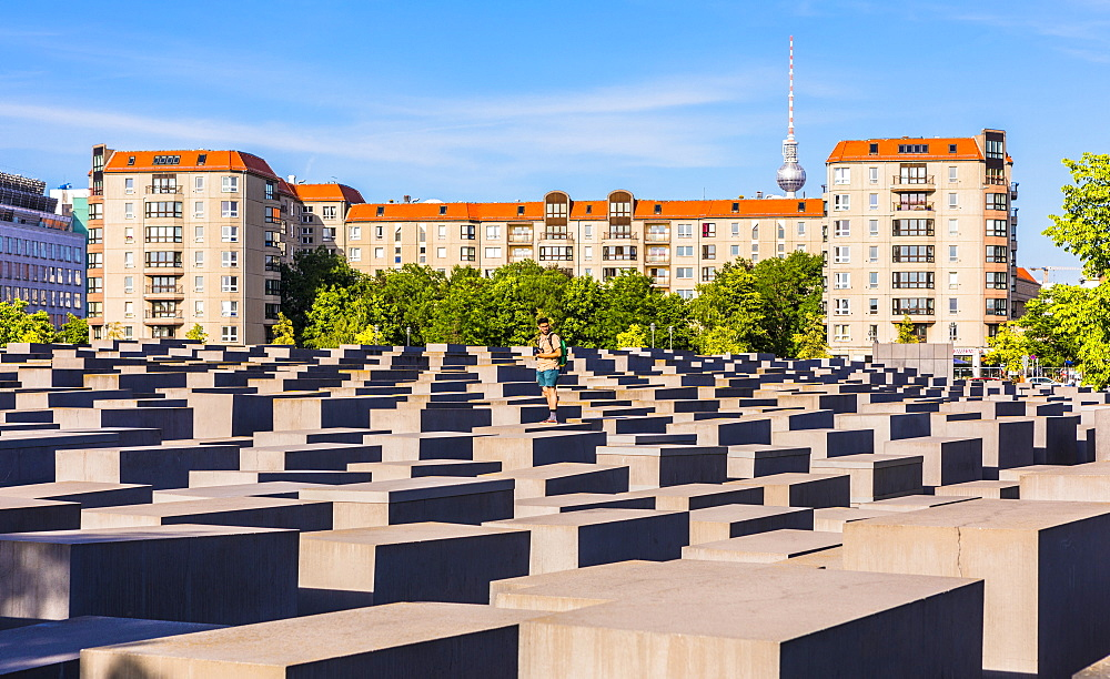 Holocaust Memorial, Berlin, Germany, Europe - 1207-552