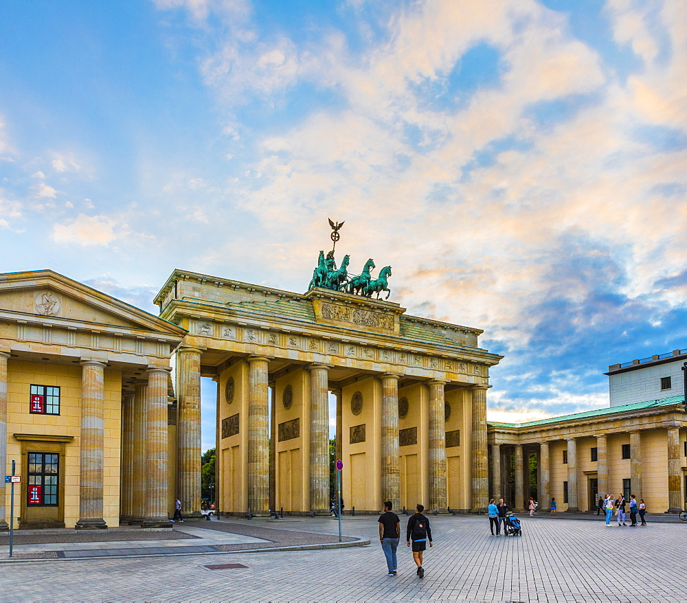Brandenburg Gate, Berlin, Germany, Europe - 1207-570