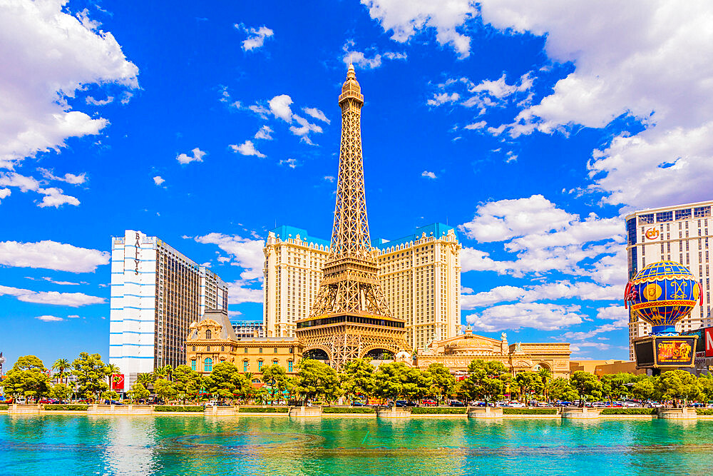 Paris Hotel and Casino, Las Vegas, Nevada, United States of America, North America - 1207-646