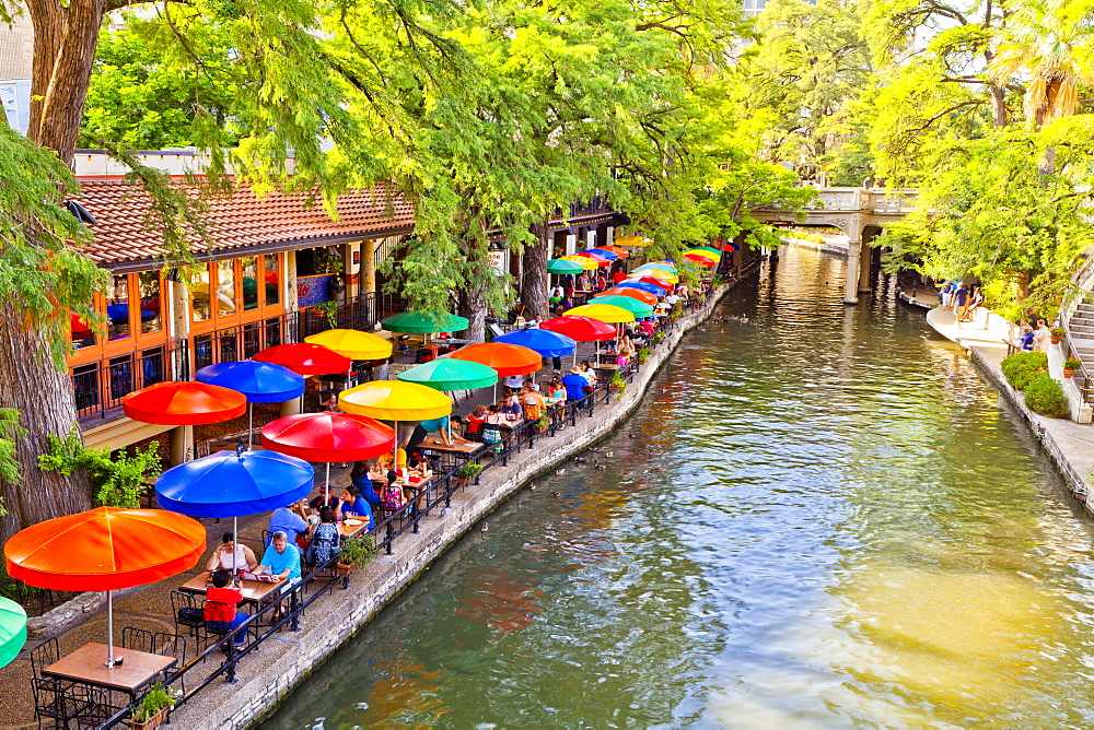 San Antonio River Walk, San Antonio, Texas, United States of America, North America - 1207-79