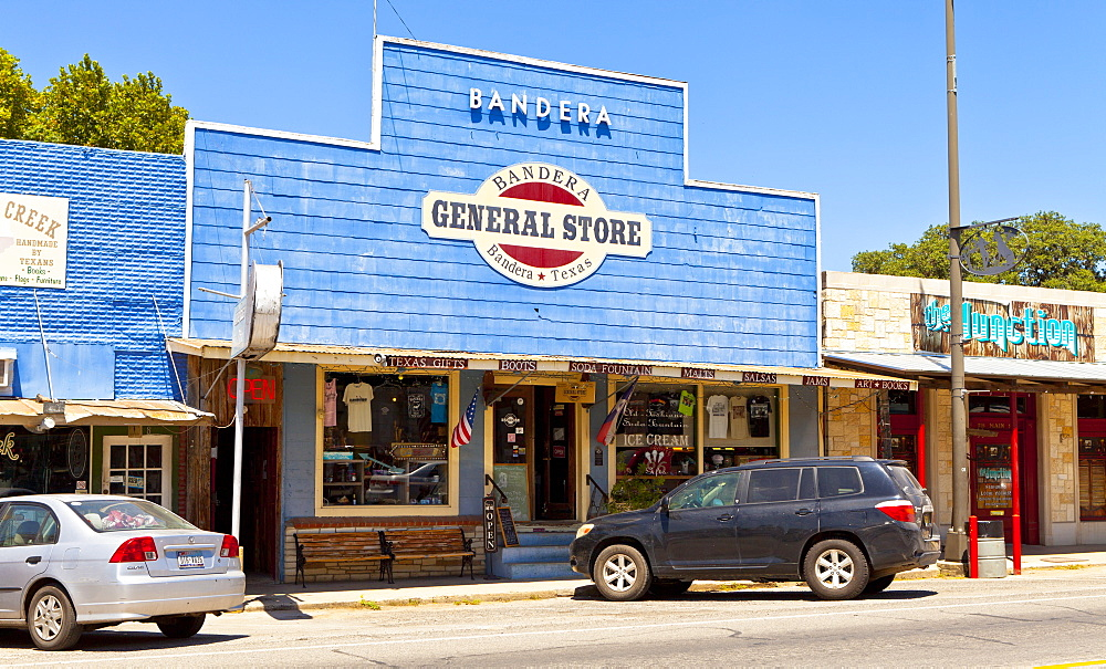 General store, Bandera, Texas, United States of America, North America - 1207-81