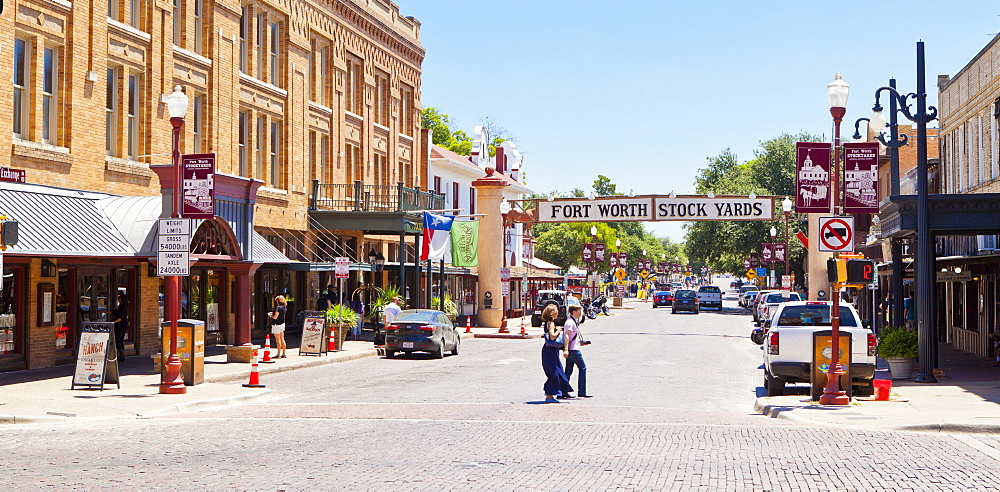 Fort Worth Stockyards, Texas, United States of America, North America