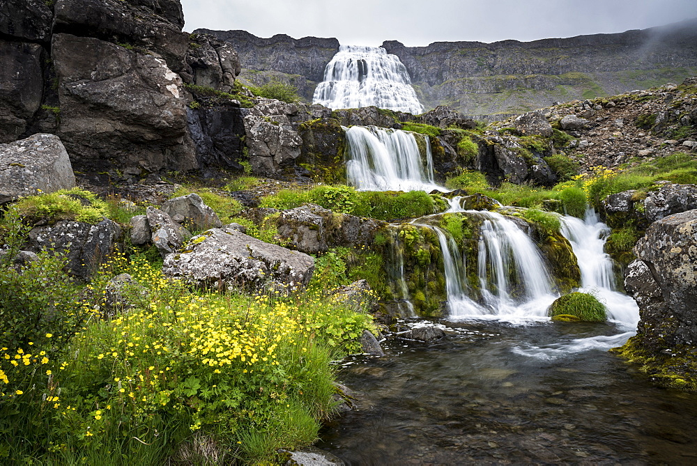 Dynjandi Waterfall, Westfjords, Iceland, Polar Regions