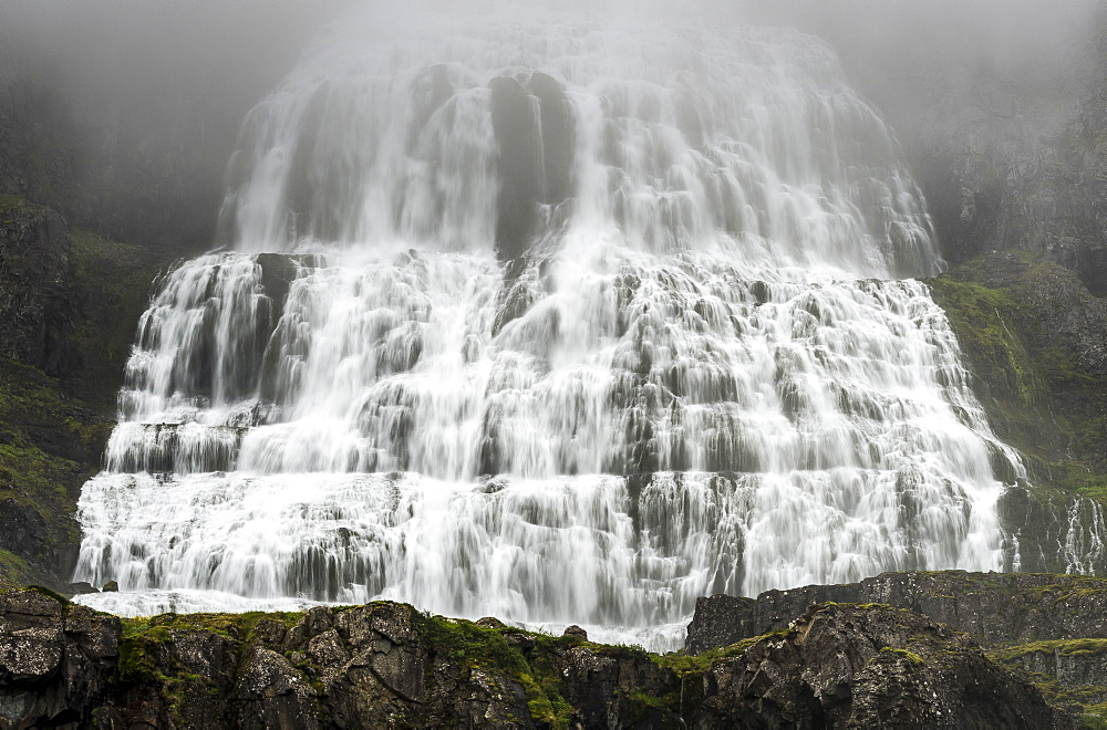 Dynjandi Waterfall, Westfjords, Iceland, Polar Regions - 1209-135