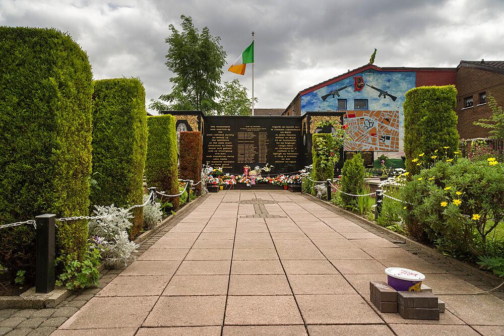 Peace Garden, Falls Road, Belfast - 1209-168
