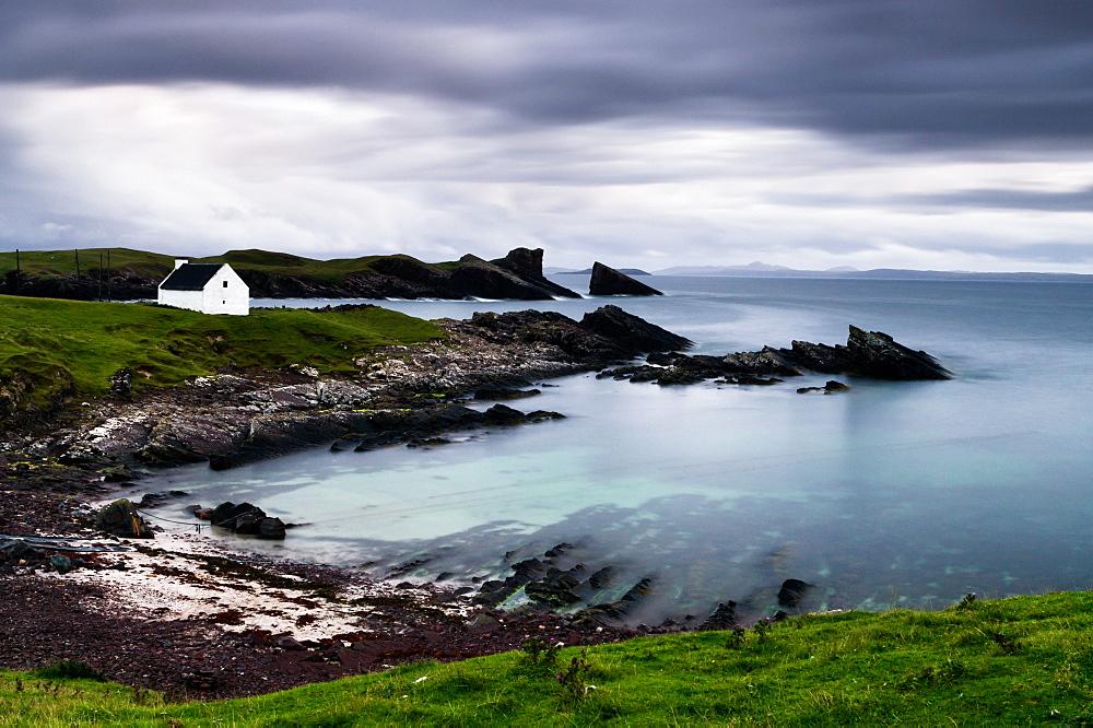 Clachtoll, Sutherland, Highland, Scotland, United Kingdom, Europe - 1209-23