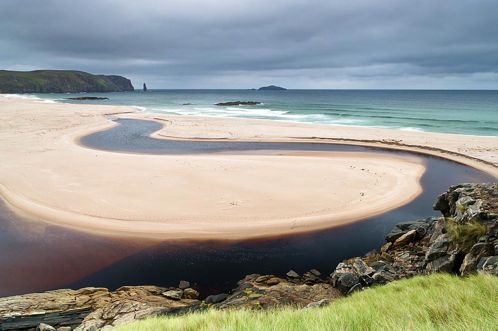 Sandwood Bay, Cape Wrath, Durness, Scotland, United Kingdom, Europe - 1209-25