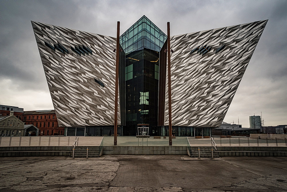 Titanic Museum, Belfast, Northern Ireland, UK.