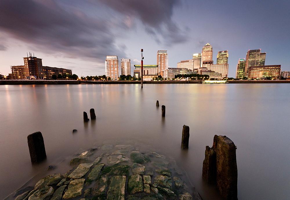 Canary Wharf, London, England, United Kingdom, Europe - 1209-3