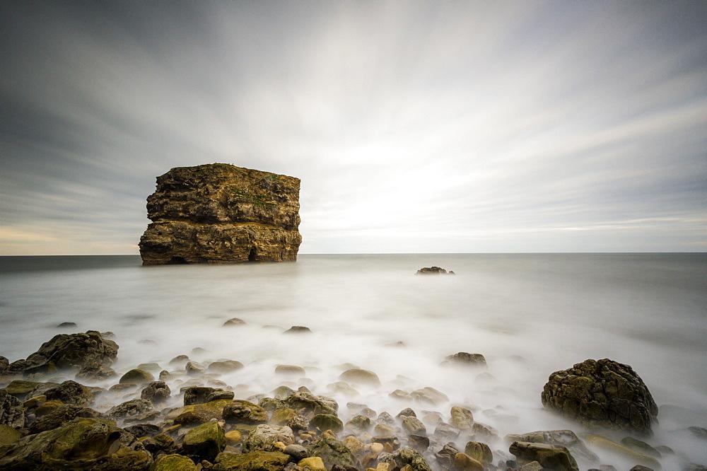 Marsden Rock, South Shields, Tyneside, England, United Kingdom, Europe - 1209-52