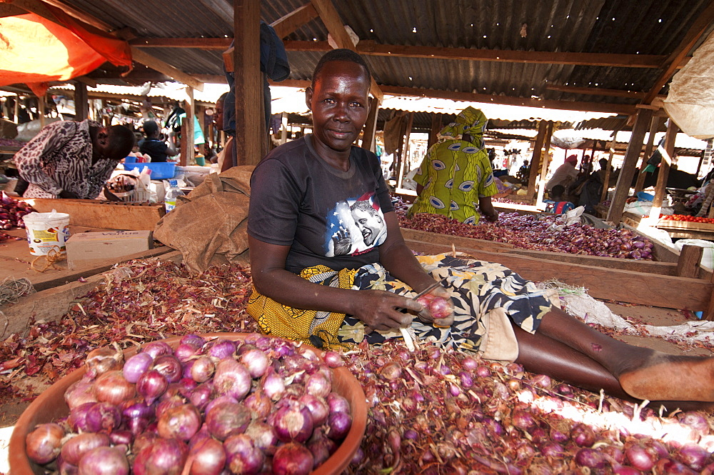 Lira market, Uganda, Africa - 1211-18