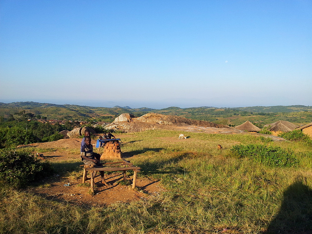 Rural village, Malawi, Africa