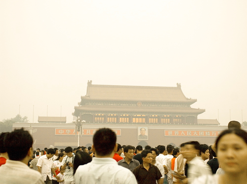 Tiananmen Square, Beijing, China, Asia