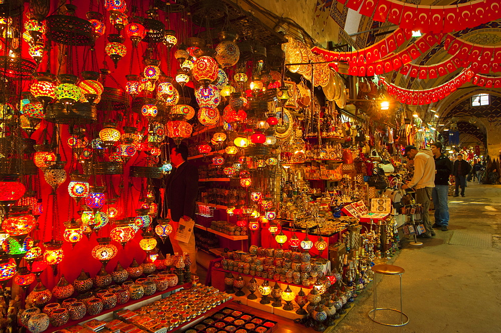 Grand Bazaar, Istanbul, Turkey, Europe