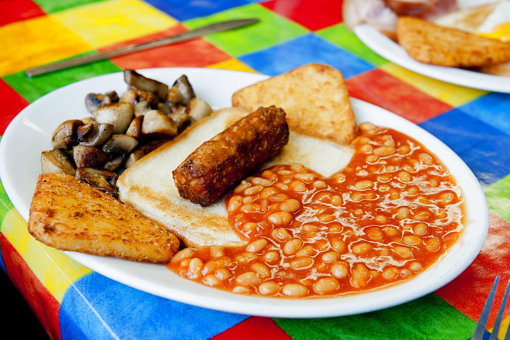 Full English breakfast, United Kingdom, Europe