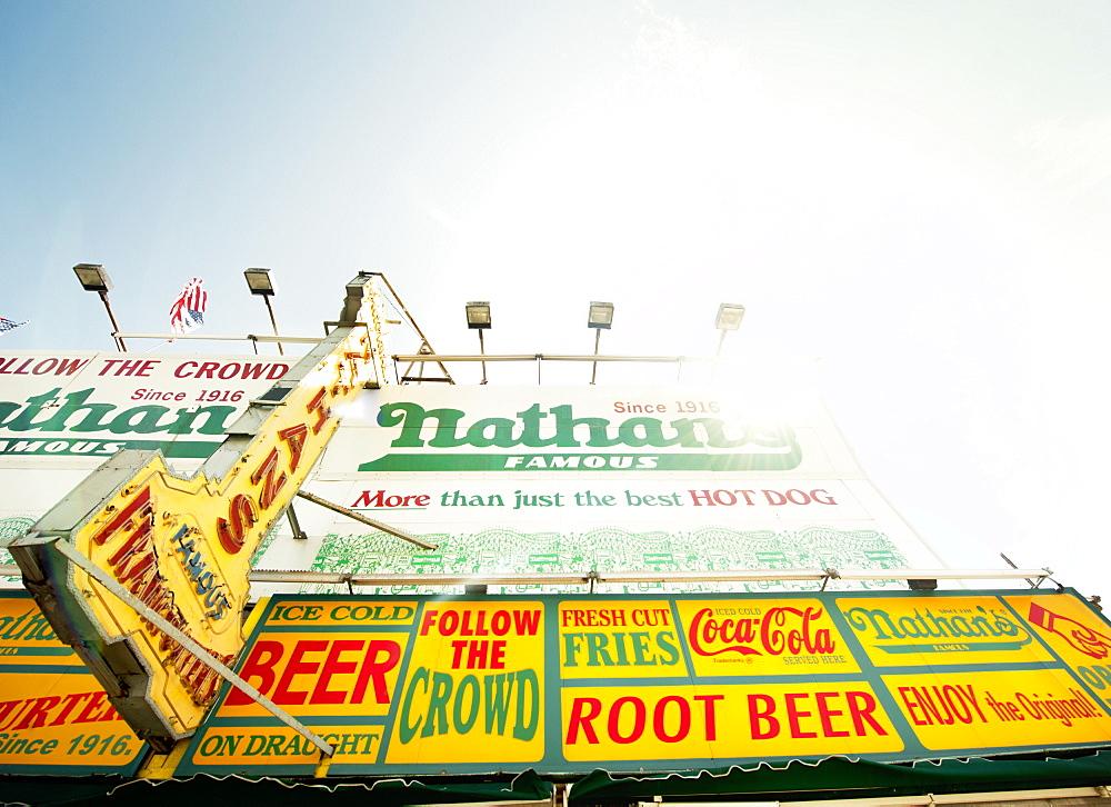 Coney Island, New York, United States of America, North America - 1212-176