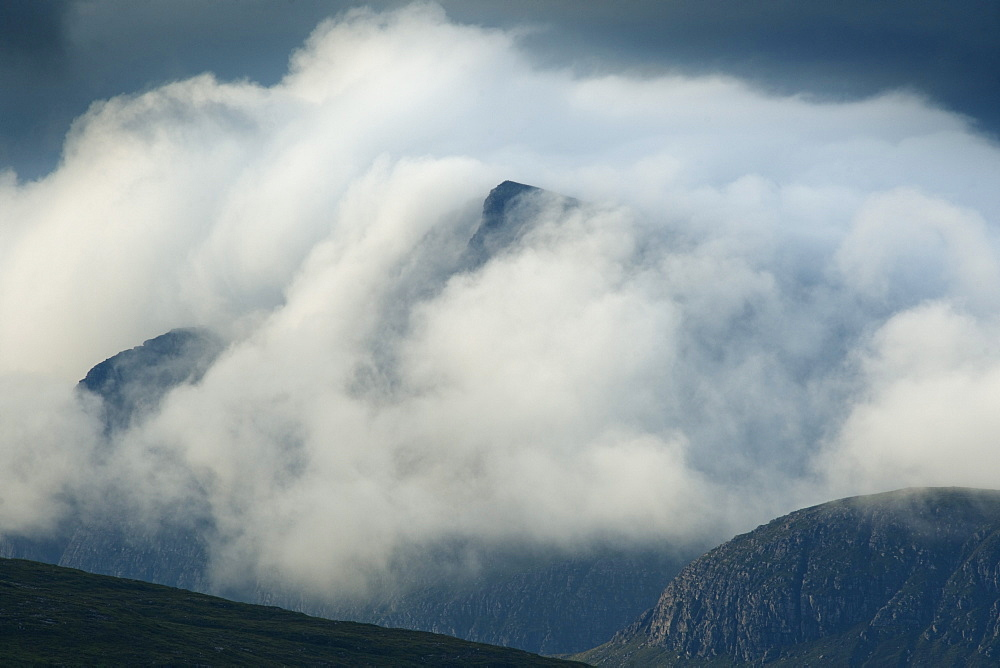 The mountains of Assynt, Sutherland in the Highlands of Scotland, United Kingdom, Europe