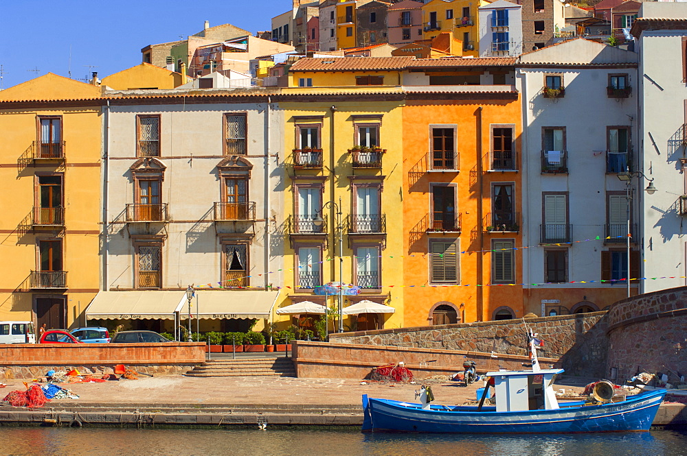 Waterfront, Sassari, Sardinia, Europe
