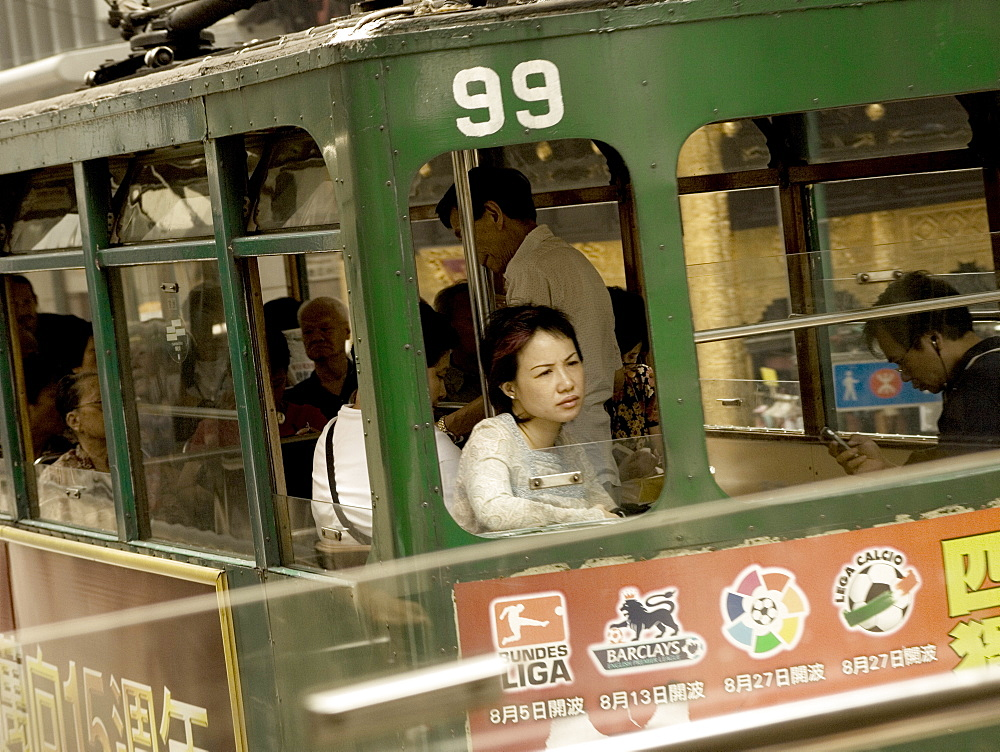 Tramcar, Hong Kong, China, Asia