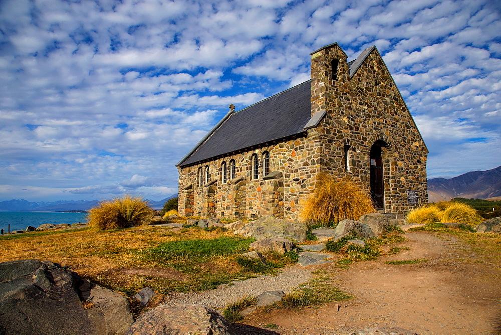 Church of the Good Shepherd, Lake Tekapo, South Island, New Zealand, Pacific - 1214-3