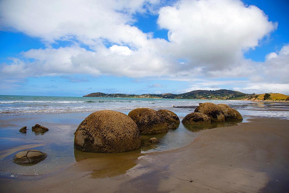 Moeraki Boulders, Koekohe Beach, Otago, South Island, New Zealand, Pacific - 1214-9