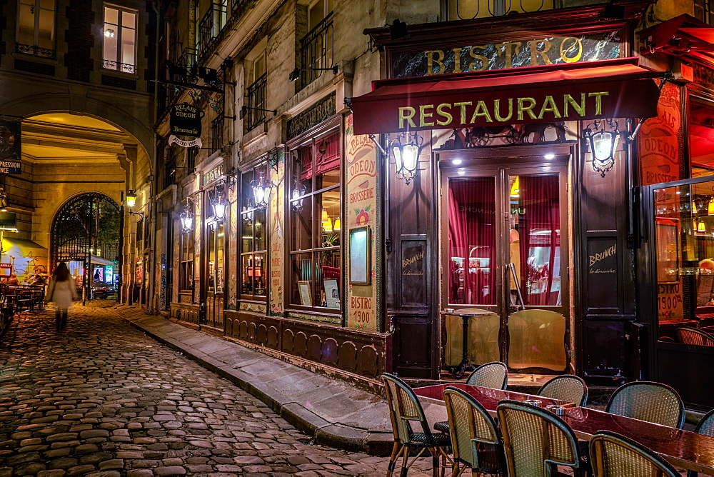 Parisian cafe, Paris, France, Europe - 1215-14
