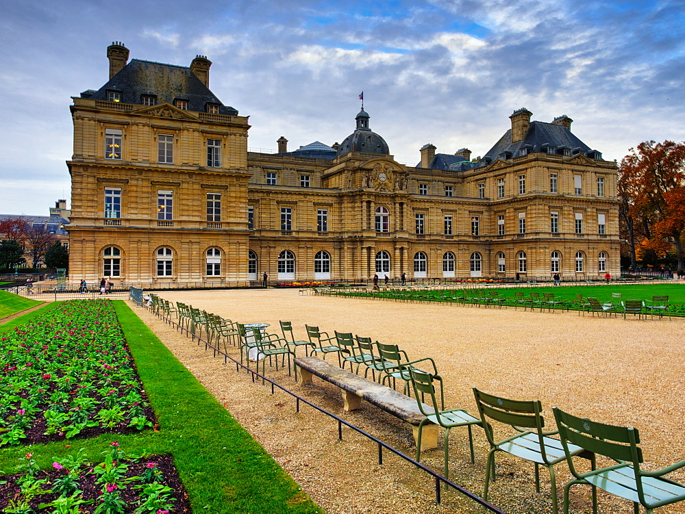 Jardin du Luxembourg, Paris, France, Europe - 1215-16