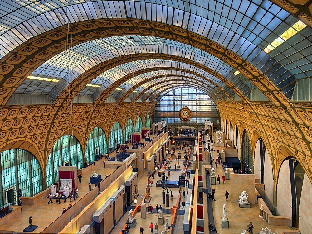 Musee d'Orsay, Paris, France, Europe - 1215-19