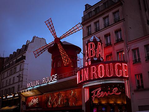 Moulin Rouge, Montmartre, Paris, France, Europe