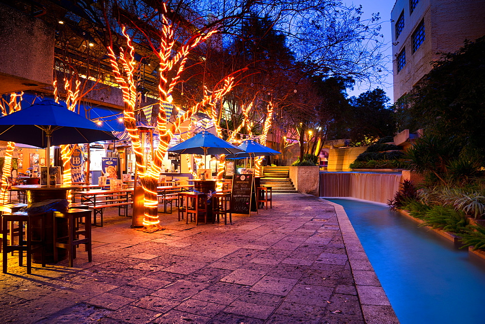 San Antonio Riverwalk, San Antonio, Texas, United States of America, North America - 1215-26