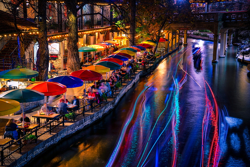 San Antonio Riverwalk, San Antonio, Texas, United States of America, North America - 1215-28