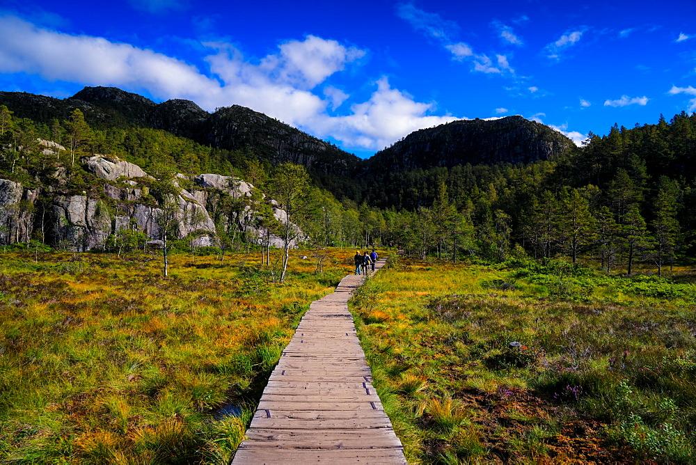 Hiking to Pulpit Rock, Stavanger, Norway, Scandinavia, Europe - 1215-32