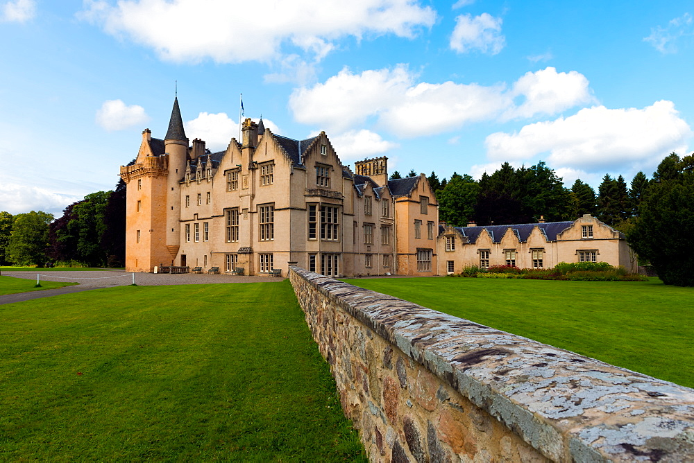 Brodie Castle, Moray, Scotland, United Kingdom, Europe