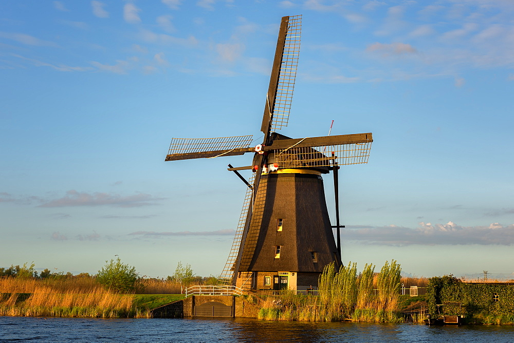 Kinderdijk windmill, UNESCO World Heritage Site, The Netherlands, Europe