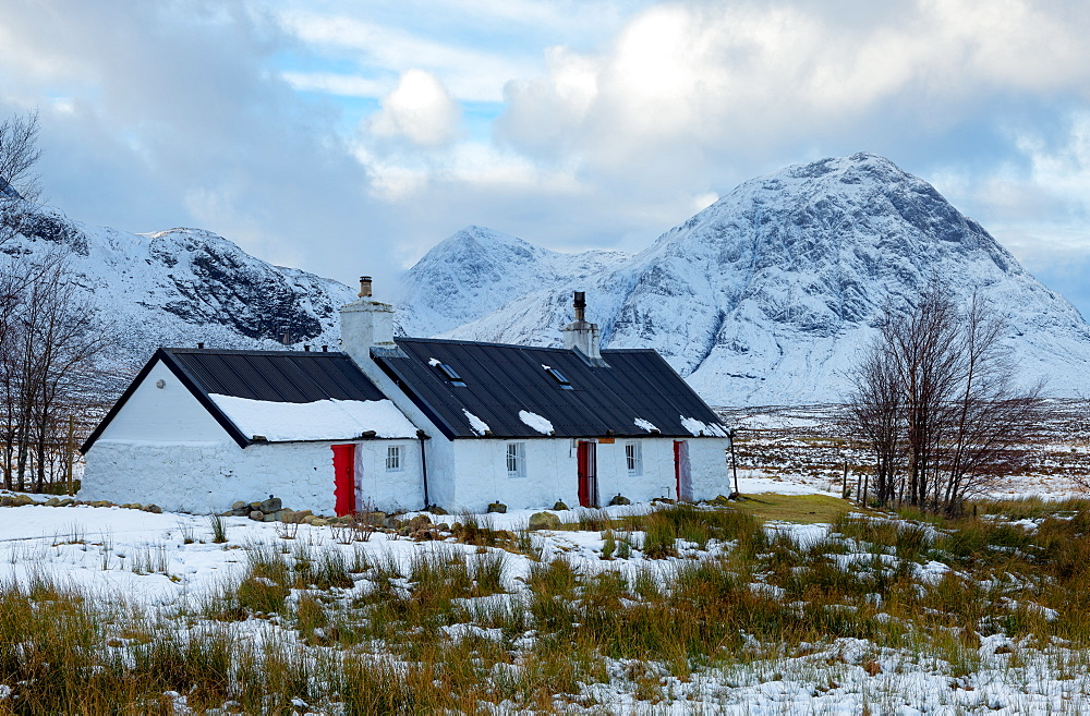 Blackrock Cottage, Glencoe, Highland Region, Scotland, Europe - 1216-216