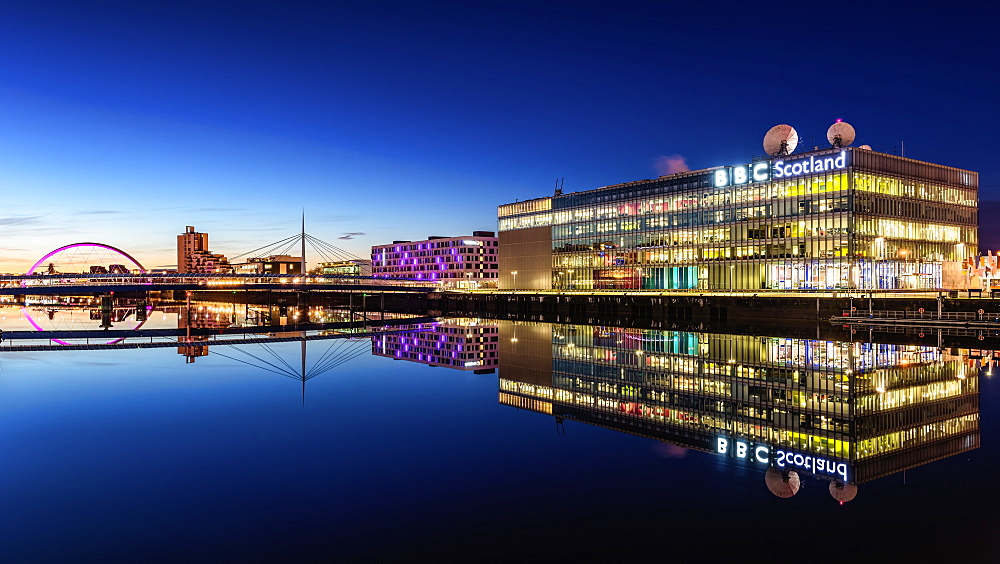 Pacific Quay, Glasgow, Scotland, United Kingdom, Europe