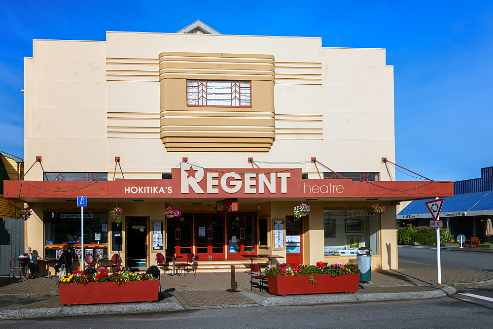 Hokitika's Regent Theatre, Hokitika, South Island, New Zealand, Pacific