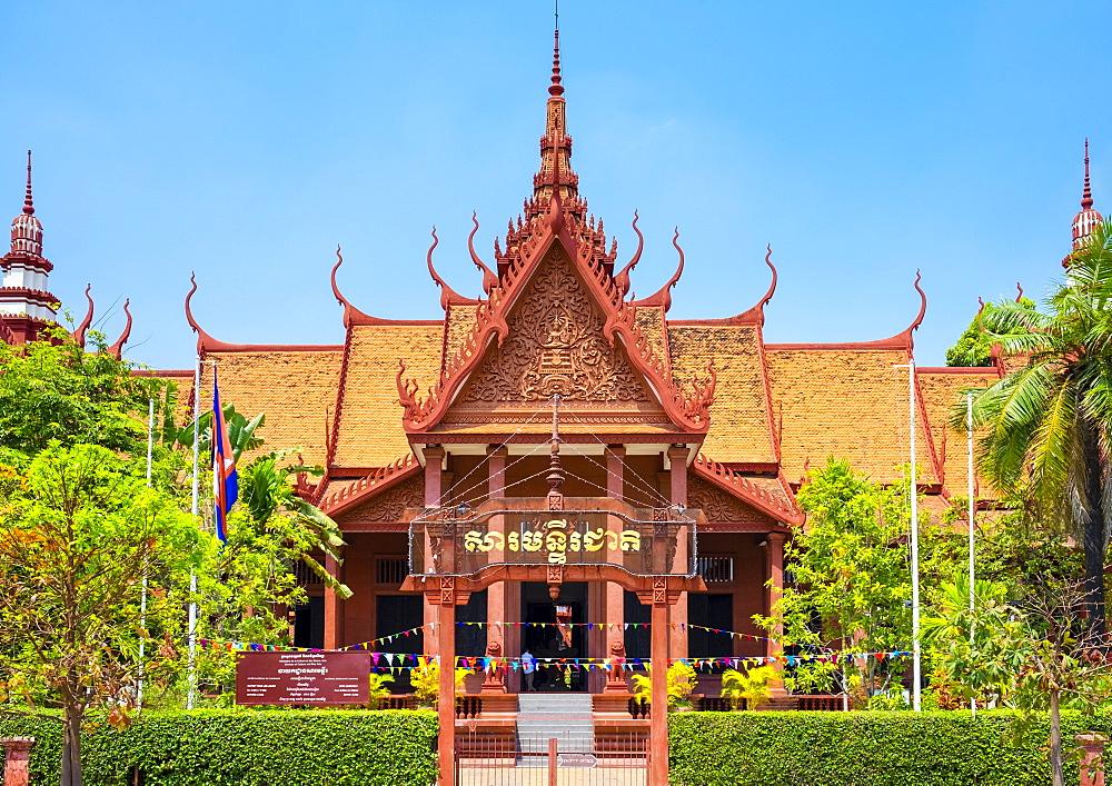 National Museum of Cambodia, Phnom Penh, Cambodia, Indochina, Southeast Asia, Asia