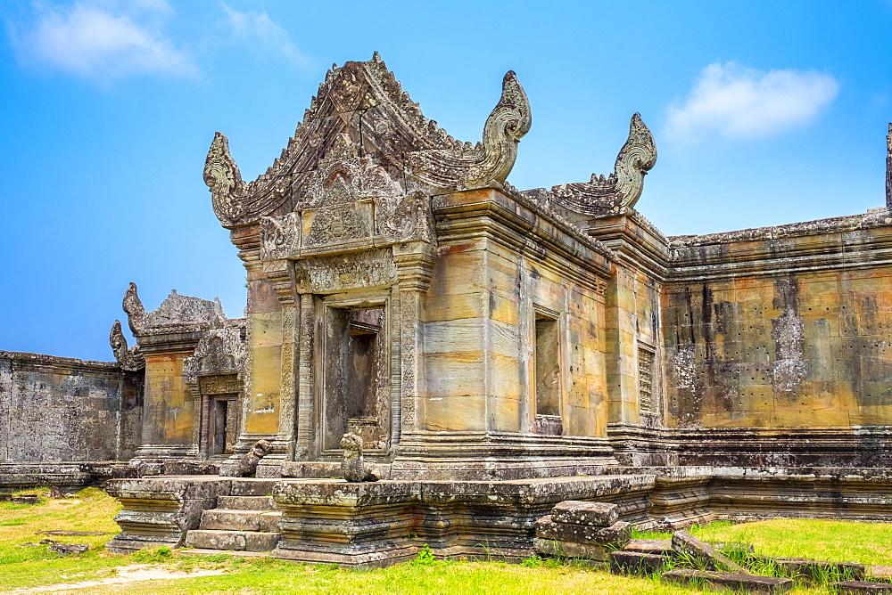 Prasat Preah Vihear temple ruins, UNESCO World Heritage Site, Kantout, Preah Vihear Province, Cambodia, Indochina, Southeast Asia, Asia
