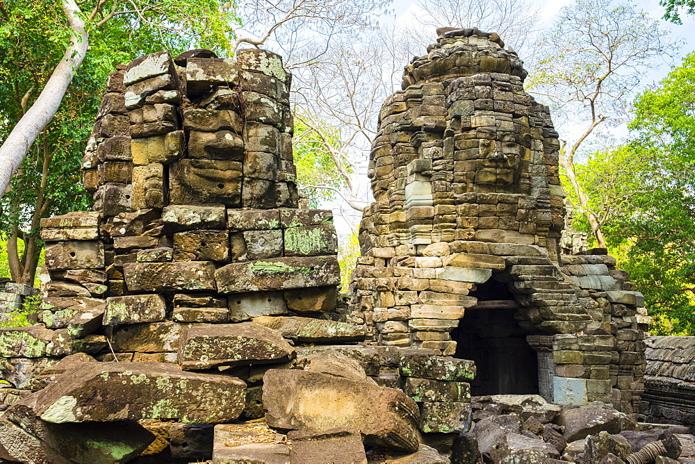Banteay Chhmar, Ankorian-era temple ruins, Banteay Meanchey Province, Cambodia, Indochina, Southeast Asia, Asia