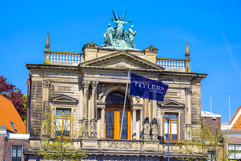Teylers Museum, an art, natural history, and science museum established in 1778, Haarlem, North Holland, Netherlands, Europe - 1217-311