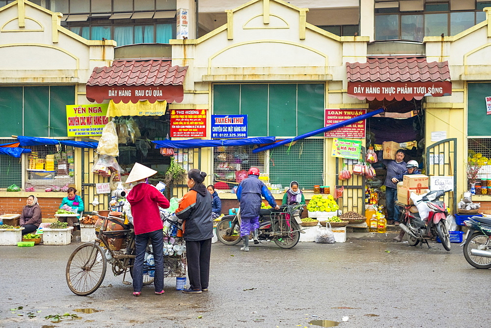 Dong Xuan Market, Hoan Kiem District, Old Quarter, Hanoi, Vietnam, Indochina, Southeast Asia, Asia